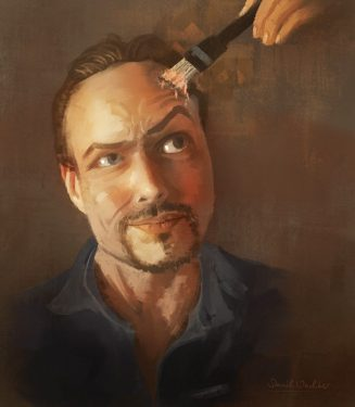 Daniel Wachter Self Portrait